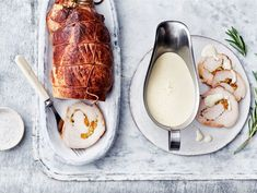 AURA valkoviinikastike kalkkunalle | Valio Glass Of Milk, Camembert Cheese, Food, Christmas, Xmas, Essen, Navidad, Meals, Noel