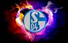 Logo FC Schalke 04 hintergrund
