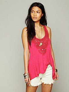 free people clothing | Free People Lakshimi Tank in beach-clothes