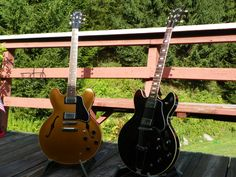 Something old and something new. ES-335's