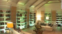 No need to pack books or an iPad thanks to the on-site library at Carlisle Bay, Antigua.