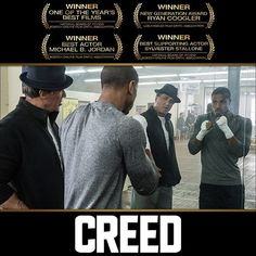 A fight you won't want to miss. Own on Digital now & on Blu-ray™ Apollo Creed, Ryan Coogler, Best Supporting Actor, Sylvester Stallone, Best Actor, Decir No, Actors, Baseball, Digital