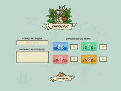Feivest 2013 - Feira do vestibular (caça ao tesouro) - Criação de layout, montagem em html/css