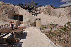 Gamirasu Cave Hotel, Cappadocia, Turkey. Our organic garden http://www.organicholidays.com/at/877.htm