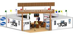 FCSI Four Box Pavilion designed by LU Schildmeyer