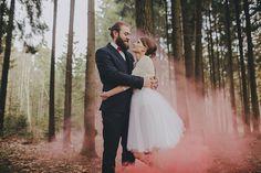PREVIEW | JUSTE AND NERIJUS COLOR SMOKE WEDDING