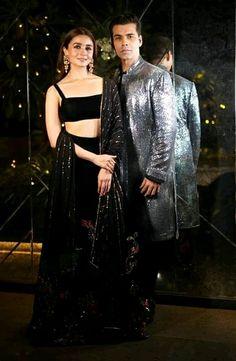 d8b5e629e2 Suits · Lehenga For Girls, Lehenga Designs, Saree Blouse Designs, Dress  Designs, Black Lehenga