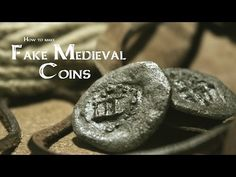 what can I use for pretend coins - Google Search Resurrection Eggs, Salt Dough, Medieval, Coins, Make It Yourself, Diy Stuff, Personalized Items, Board Games, How To Make