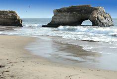 Natural Bridges State Beach | Travel | Vacation Ideas | Road Trip | Places to Visit | Santa Cruz | CA | Tourist Attraction | State Park | Beach