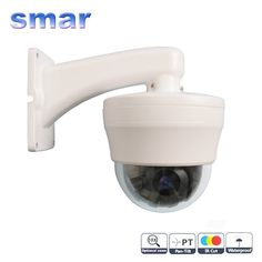 116.78$  Buy here - http://alibcf.worldwells.pw/go.php?t=1080253128 - CCTV Security 4 Inch 1/3 Sony CCD 480TVL 360 Degree Rotate 10x Zoom PTZ Mini High Speed Dome Surveillance Camera 116.78$