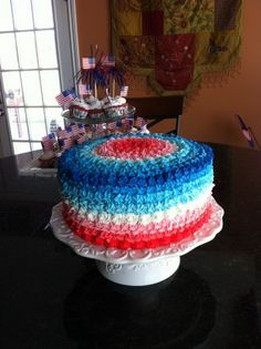 60 Adorable 4th of July Cake Designs Ideas