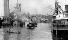 The Michigan St. Bridge Buffalo NY ca. 1900