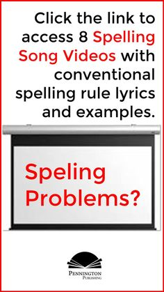 Check out these 8 fun videos of the common conventional spelling rules. Response To Intervention, Reading Assessment, Reading Intervention, Teaching Reading Strategies, Reading Fluency, Reading Resources, Spelling Rules, Spelling Lists, Common Core Vocabulary
