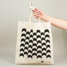 Geometric Tote Bag | Dot & Cross