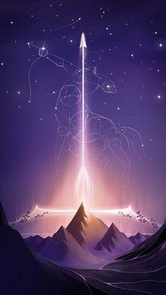 Sagittarius Wallpaper, Sagittarius Constellation, Zodiac Signs Sagittarius, Zodiac Art, Cute Wallpaper Backgrounds, Tumblr Wallpaper, Galaxy Wallpaper, Cute Wallpapers, Virgo Star Sign