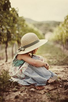 Love this. I know just the vineyard and little girl a shoot like this could be created with.