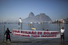 AP Investigation: Filthy Rio water a threat at 2016 Olympics- Athletes disregard warnings to train