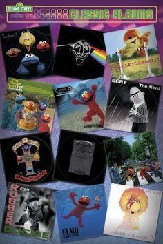 Sesame Street Classic Albums Poster Print, http://www.amazon.com/dp/B007C96A60/ref=cm_sw_r_pi_awdm_AUHBtb0170RG7