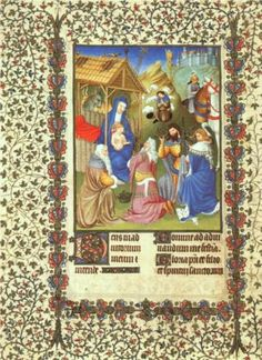 The Adoration of the Magi - Limbourg brothers