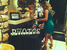 Photo booths are a great idea for every wedding.