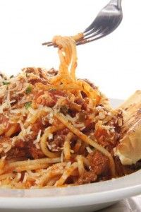 Check out these Top 10 Slow Cooker Recipes!! (pictured: Skinny Spaghetti) #recipes