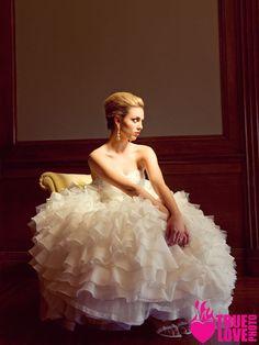 photograper: www.truelovephoto.com/blog  Publication:   http://www.ourweddingmag.com/  Make-up: www.brushworxmakeup.com  Hair: Tinaromo.com  Stylist: Sarah Kreutz