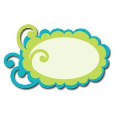 Free SVG File – Sure Cuts A Lot – 06.03.10 – Swirly Scalloped Frame