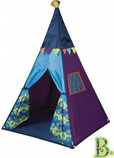 Teepee Stars Light Show Play Tent - Educational Toys Planet Play Teepee, Teepee Tent, Teepee Kids, Teepees, Toys Uk, New Toys, Family Tent, Family Camping, Family Room