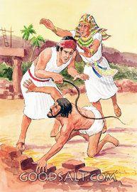 Moses Defending a Hebrew Slave