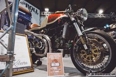 E.I.C.M.A. 2012 Cafe Racer, Pin-Up & Rock 'n' Roll