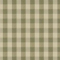Stroheim BIRON STRIE CHECK Sage Fabric