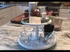 DIY DOLLAR TREE CHRISTMAS BLING VASE - GLAM HOME DECOR CENTERPIECE - YouTube