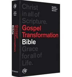 Produced out of the conviction that the Bible is a unified message of God's grace culminating in Jesus, the Gospel Transformation Bible is a significant new tool to help readers see Christ in all the Bible, and grace for all of life.