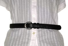 COACH Vintage Black Leather Belt Small. Get the lowest price on COACH Vintage Black Leather Belt Small and other fabulous designer clothing and accessories! Shop Tradesy now