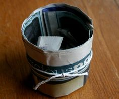 Starting Seeds Indoor: Newspaper Cups
