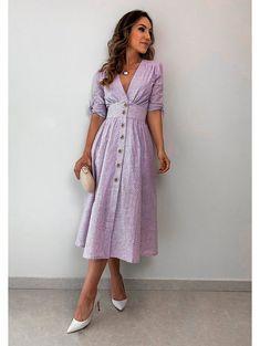 New dress vintage style haute couture Ideas Trendy Dresses, Cute Dresses, Vintage Dresses, Beautiful Dresses, Casual Dresses, Summer Dresses, Hijab Casual, Maxi Dresses, Maxi Skirts
