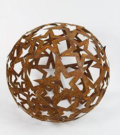 Kugel, Balcony, Decorative Bowls, Brown, Garden, Home Decor, Garden Design Ideas, Stars, Metal