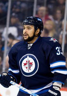 Big buff on the big blue line, big blue buff.blue line buff. Jets Hockey, Hockey Teams, Ice Hockey, Hockey Stuff, Dustin Byfuglien, Nfl Fans, Cool Countries, Hockey Players, Esl