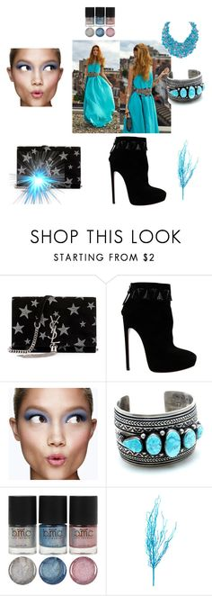 """""""Bez naslova #20"""" by david111 ❤ liked on Polyvore featuring Yves Saint Laurent, Alaïa and Clinique"""