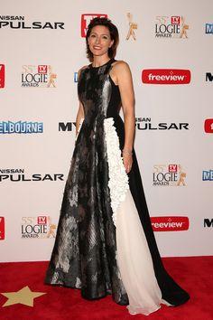 Claudia Karvan in 2013 Logie Awards - Arrivals