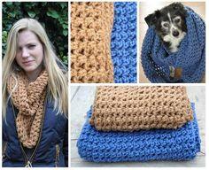 Mijn eigen plekkie: Colsjaal gehaakt voor mijn dochter en mezelf... Met link naar videotut. Chrochet, Crochet Shawl, Knit Crochet, Crochet Cats, Crochet Winter, Love Crochet, Crochet Ideas, Diy Projects To Try, Beautiful Patterns