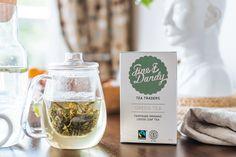 Tea packaging, Fine & Dandy Tea Co,  Shot by Josh Griggs www.fineanddandy.co.nz