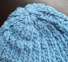 Good morning friends   Today for Finished Friday, I'm sharing the hat I made for Ethan.      I used the green Knifty Knitter (36 peg loom) ...