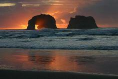 Twin Rocks...Rockaway Beach