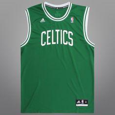 501c5b3ea Regata Adidas Celtics Road - NBA Store Roupas Esportivas