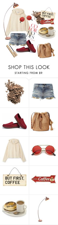 """""""whatta lazy day. wheres my coffee?"""" by shania-azzahra ❤ liked on Polyvore featuring Dolce&Gabbana, ZeroUV, Arco and Stila"""