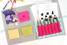 DIY Busy Book...this one is so cute!!