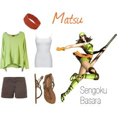 Matsu, created by elocinecko on Polyvore