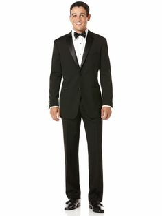 Wool Notch Lapel Slim Fit Tuxedo #merryperry