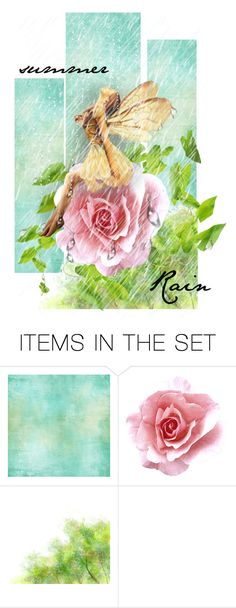 """""""Summer Rain"""" by bb60477 ❤ liked on Polyvore featuring art"""